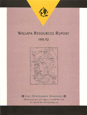 Willapa Resources Report, 1991-92