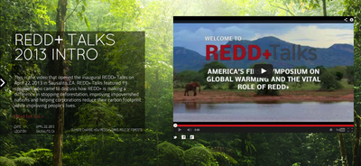 REDD+ Talks: America's First Symposium on Global Warming and the Vital Role of REDD+