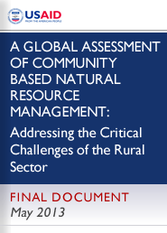 Cover: A Global Assessment of Community Based Natural Resource Management: Addressing the Critical Challenges of the Rural Sector