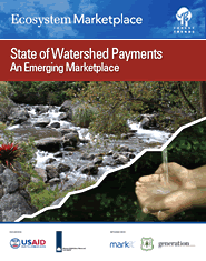 Cover: Ecosystem Marketplace-State of Watershed Payments Featured September 7, 2010