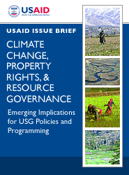 Cover: Climate Change, Property Rights, & Resource Governance: Emerging Implications for USG Policies and Programming Featured May 17, 2010