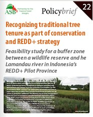 Cover: Recognizing traditional tree tenure as part of conservation and REDD+ strategy