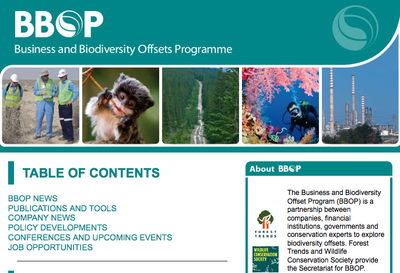 BBOP Newsletter - September 2014