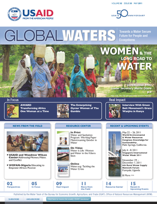 USAID Global Waters: Women & the Long Road to Water | May 2011