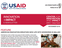 Innovation and Impact Newsletter - November 2018