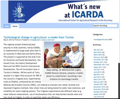 International Center for Agricultural Research in the Dry Areas - ICARDA