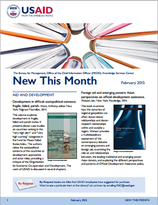 USAID New This Month February 2015
