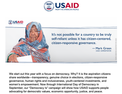 USAID Newsletter January 2020