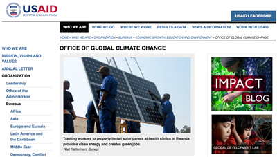 USAID Office of Global Climate Change