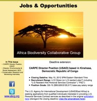 ABCG  - Jobs and Opportunites May 2012