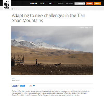 Adapting to New Challenges in the Tian Shan Mountains