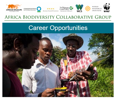 Africa Biodiversity Collaborative Group Career Opportunities Late July 2017