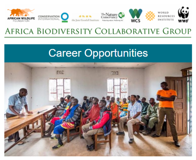 Africa Biodiversity Collaborative Group Career Opportunities May 2017