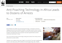 Anti-Poaching Technology in Africa Leads to Dozens of Arrests
