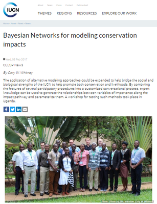 Bayesian Networks for Modeling Conservation Impacts