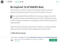 Be Inspired: 10 of USAID's Best