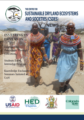 The Center for Sustainable Dryland Ecosystems and Societies (CSDES) News