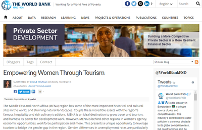 Empowering Women Through Tourism