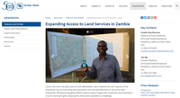 Expanding Access to Land Services in Zambia