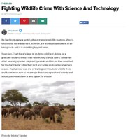 Fighting Wildlife Crime With Science And Technology