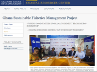 Fishing Communities in Ghana to Benefit from Micro-Insurance