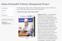 Ghana Sustainable Fisheries Management Project