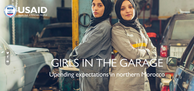 Girls in the Garage - Upending expectations in northern Morocco