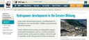Hydropower Development in the Greater Mekong