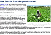 New Feed the Future Program Launched