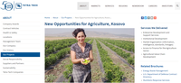 New Opportunities for Agriculture, Kosovo