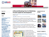 USAID Impact Blog: A Record-Breaking Year for Mobilizing Private Capital for Development