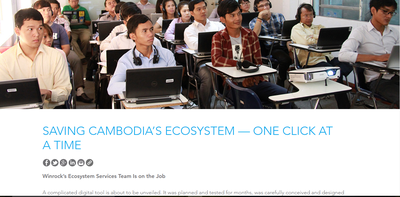Saving Cambodia's Ecosystem — One Click at a Time