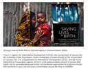 Saving Lives at Birth Round 8 Broad Agency Announcement (BAA)