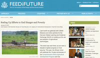 Scaling Up Efforts to End Hunger and Poverty