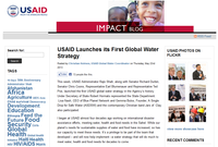 USAID Launches its First Global Water Strategy