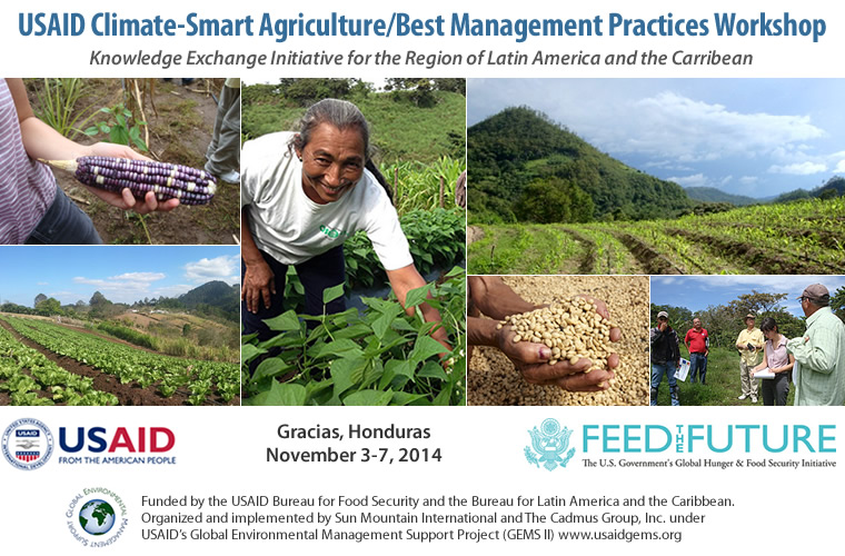USAID Climate-Smart Agriculture/Best Management Practices Workshop