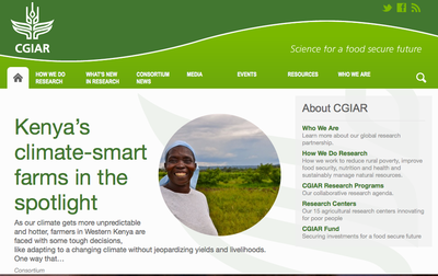 Consultative Group on International Agricultural Research (CGIAR)