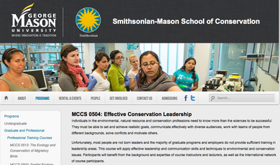 MCCS 0504: Effective Conservation Leadership